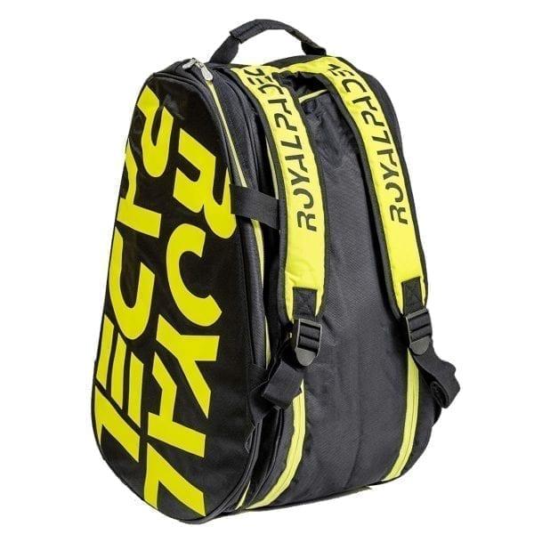 Super Combi Thermal Padel Sports Bag, Black and Yellow, Royal Padel 05