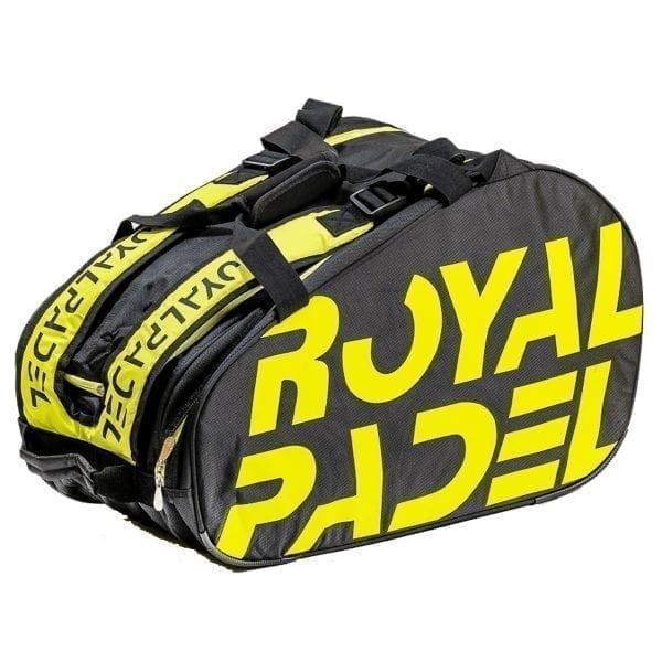 Super Combi Thermal Padel Sports Bag, Black and Yellow, Royal Padel 02