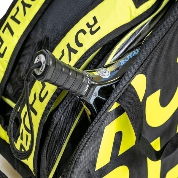 Super Combi Thermal Padel Sports Bag, Black and Yellow, Royal Padel 03