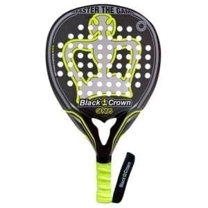 Padel Racket, Paddle Tennis Racquet Genius 2021 Black Crown, Level: Advanced and Professional 01