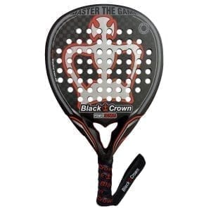 Padel Racket, Paddle Tennis Racquet, Power Genius 2021 Black Crown, Level: Advanced and Professional 01