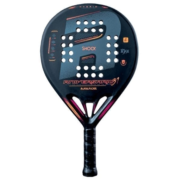 Padel Racket, Paddle Tennis Racquet, RP31 Aniversario Hybrid (Híbrida) 2021 Royal Padel, Level: Competition, Professional 01