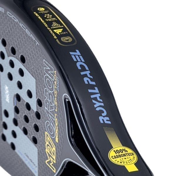 Padel Racket, Paddle Tennis Racquet, RP M27 Hybrid 2021 Royal Padel, Level: Competition, Professional 03