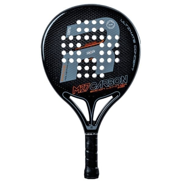 Padel Racket, Paddle Tennis Racquet, RP M27 Polietileno 2021 Royal Padel, Level: Competition, Professional 01
