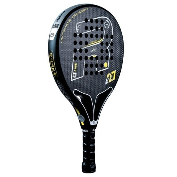 Padel Racket, Paddle Tennis Racquet, RP M27 R-Control 2021 Royal Padel, Level: Competition, Professional 02