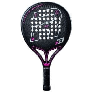 Padel Racket, Paddle Tennis Racquet, RP M27 R-Control X 2021 Royal Padel, Level: Competition, Professional 01