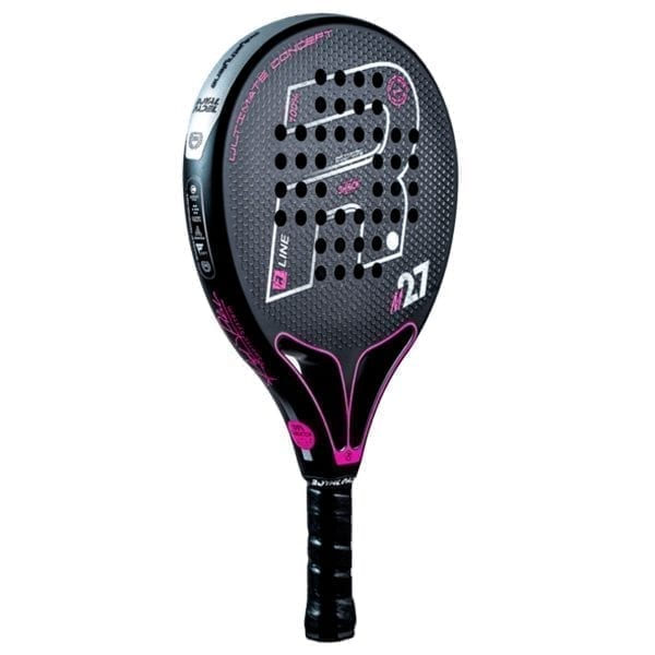Padel Racket, Paddle Tennis Racquet, RP M27 R-Control X 2021 Royal Padel, Level: Competition, Professional 02