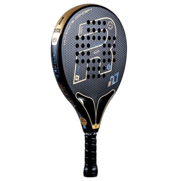 Padel Racket, Paddle Tennis Racquet, RP M27 R-Fury 2021 Royal Padel, Level: Competition, Professional 02